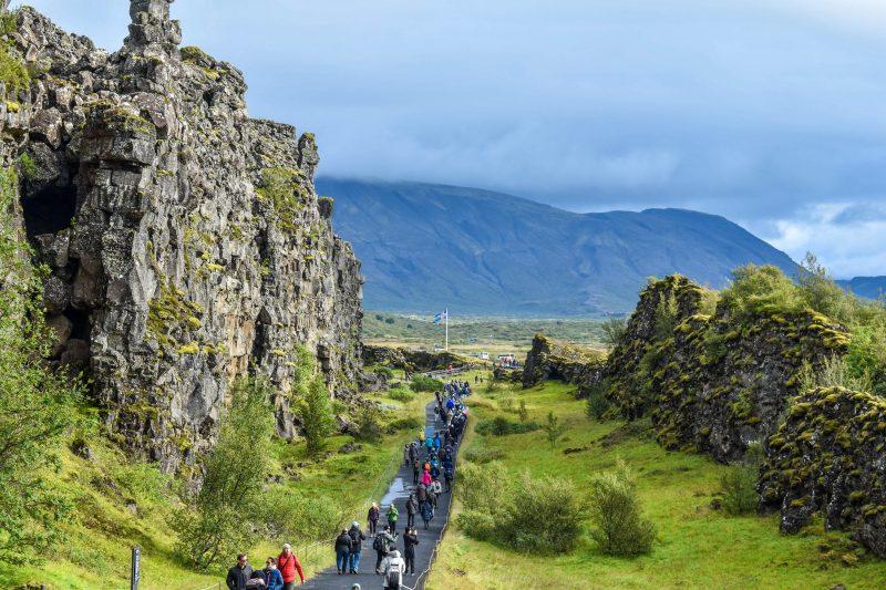 Þingvellir Tectonic Plates
