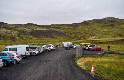 Reykjadalur Hot Spring Thermal River Parking Lot