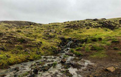 Reykjadalur Hot Spring Thermal River Stream