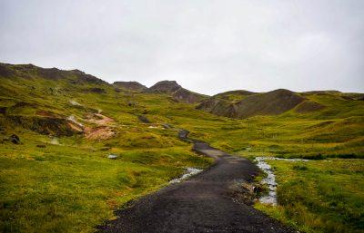 Reykjadalur Hot Spring Thermal River Trail Head
