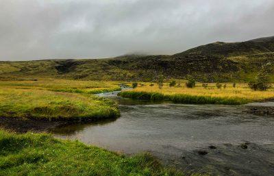 Reykjadalur Hot Spring Thermal River View