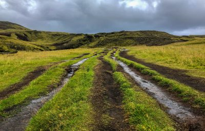 Skógafoss Hike Trail