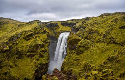 Skógafoss Hike Waterfall