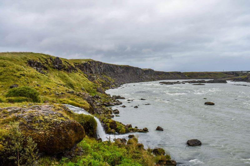 Urriðafoss Waterfall River